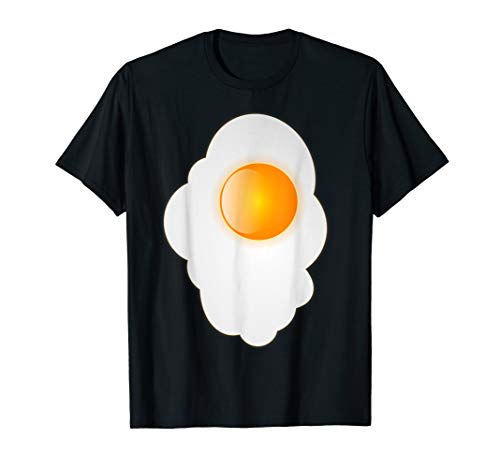 Fried Egg last minute funny Halloween costume tshirt