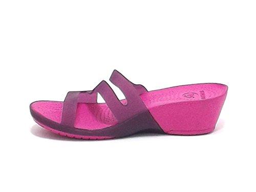Crocs Women's Slippers Purple Fuxia sKNGu0