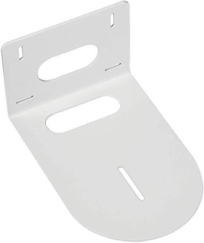 PTZ Camera Mounting Bracket Compatible with | HuddleCam | PTZOptics | Small Universal PTZ Camera Wall Mount Bracket with White Color