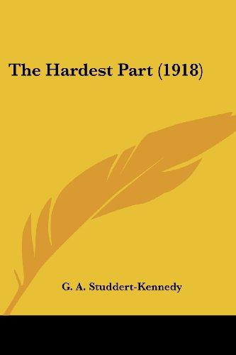 The Hardest Part (1918)
