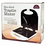 Non Stick Toastie Maker enjoy perfect toasties everytime with this versatile 800W sandwich toaster