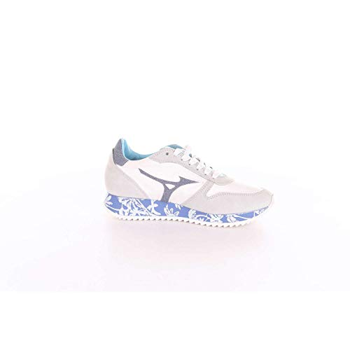 Sneakers Femme Mizuno Bleu Beige D1gc184325 Et YSPq0P