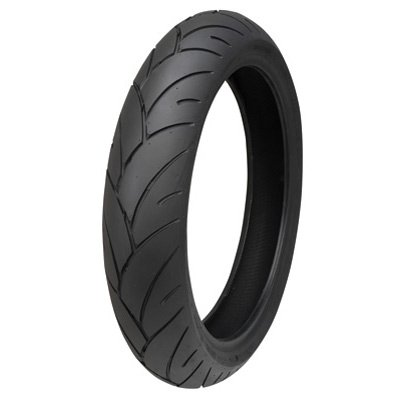 120/70ZR-17 (58W) Shinko 005 Advance Front Motorcycle Tire for Yamaha FZ6R 2009-2019