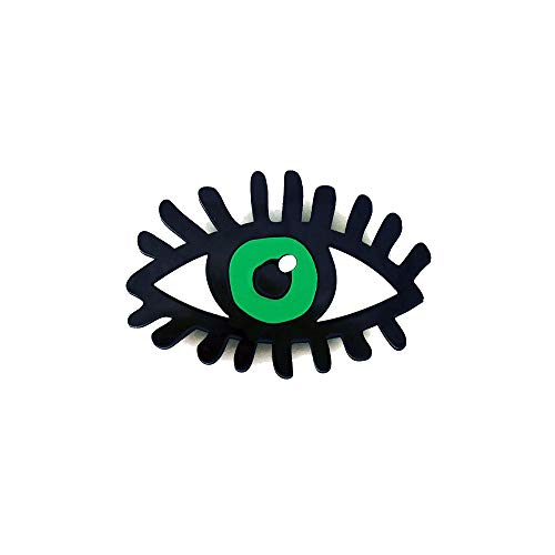 RUIZHEN Acrylic Cute Evil Eye Brooch Suit Lapel Pins for - Brooch Acrylic