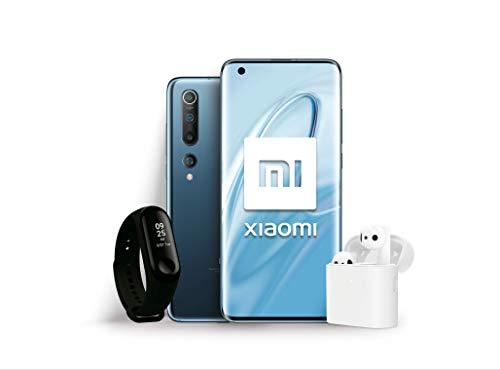 """Xiaomi Mi 10 Pack Lanzamiento (Pantalla FHD+ 6.67"""", 8GB+128GB, Camara de 108MP, Snapdragon 865 5G, 4780mah con Carga 30W…"""