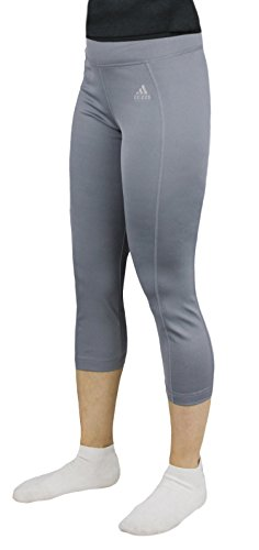 Girl's 7-16 TechFit 3/4 Tight Pants adidas Performance, Tech Grey (L 14)