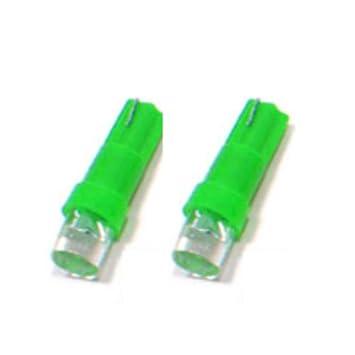 T5G - LED Lámpara VERDE T5 W2,3W T5 12V lámpara del instrumento del coche