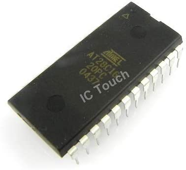 5pcs AT28C16-20PC IC 16KBIT FLASH EEPROM ATMEL Corporation IC PDIP-24