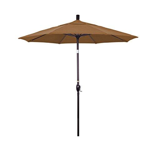 California Umbrella Aluminum Market Button