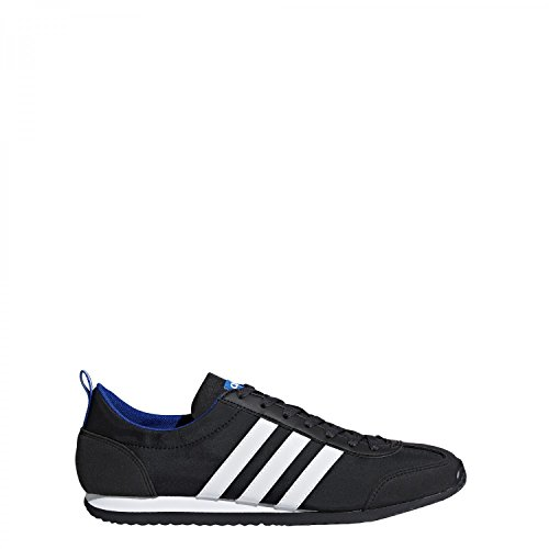 adidas Vs Jog, Zapatillas de Gimnasia Para Hombre Negro (Negbas / Ftwbla / Reauni 000)