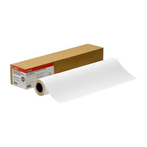 Water Resistant Matte Canvas Paper Roll Size: 50'' x 40 feet by Canon