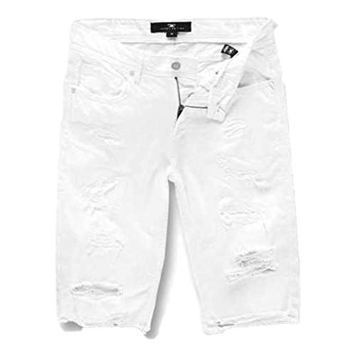 Jordan Craig Shred Twill Shorts White