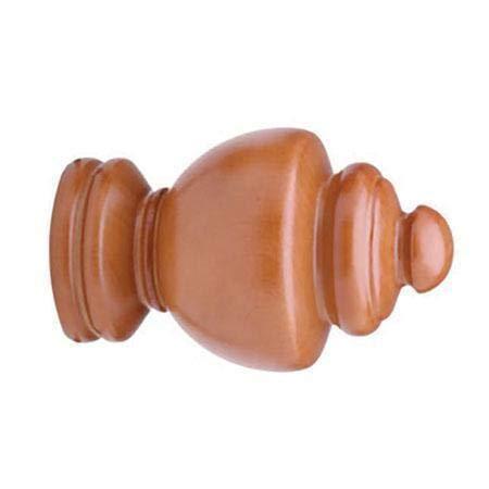 23-103-55 Walnut Brown Decorative Finial Select Drapery Hardware Regal Finial