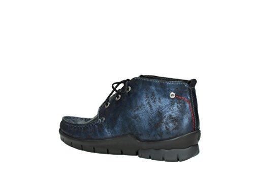 Misty Bleu Nubuck Bottines 10803 À Comfort Wolky Lacets q6U0Iqw