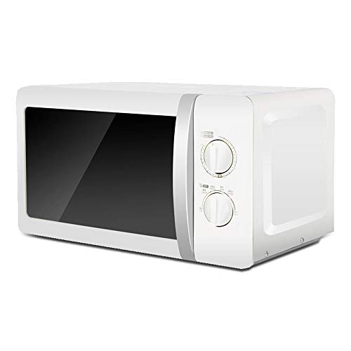 AI MZC-2070M1 small mini mechanical rotary microwave oven white, 700W, 20L, ft, 6 firepower, easy to operate