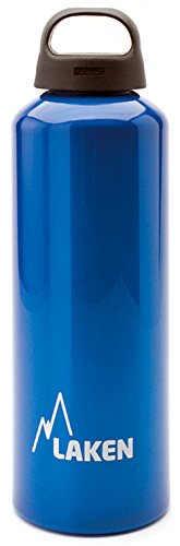 Blue Classic Cap - Laken Classic Water Bottle Wide Mouth Screw Cap with Loop - 34 oz, Blue
