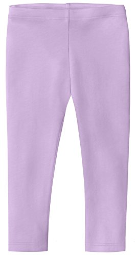 City Threads Baby Girls' Cotton Cropped Capri Summer Legging for Play and School SPD for Sensitive Skin Sensory Friendly, Lavender, 12-18 m Capri Girls Baby Clothes