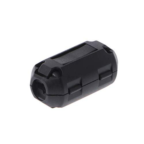 Clip-on Ferrite Ring Core RFI EMI Noise Suppressor Cable Clip for 3.5/5/7/9/13mm Cable by Keaiduoa