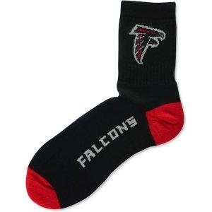 - Atlanta Falcons Team Color Quarter Socks Mens Size Large 10-13