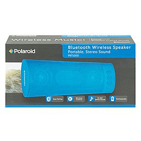 how to connect your poloroid bluetooth speakers