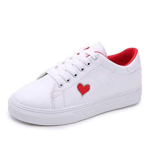 Forma Zapatos Mujer Zapatillas Deporte Corazón Antideslizantes Para En Transpirables De Planas Deportivo Calzado Ysfu Damas fHY8ww