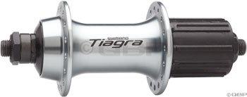 SHIMANO FH-4600 Tiagra Rear Hub (Silver, - Hub Rear Shimano
