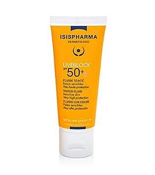 Isis Pharma Uveblock Spf 50 Tint Light Fluid Cream 40ml Skin Capital