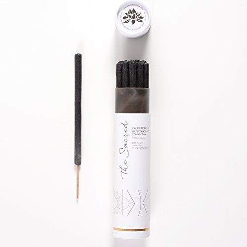 The Sacred Bali Incense - 10 Premium Long Burn 'Fat' Sticks. 100% Organic & Natural Ingredients. - Long Incense