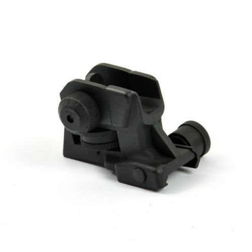 MUDCAT Outdoors Iron Sights Match Grade Model 4/15 Rear & High Profile Front Sight Gas Block, DPMS Oracle by GBO (Image #6)