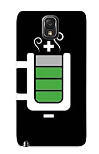 Podiumjiwrp Faddish Phone Battery Cup Case For Galaxy Note 3 / Perfect Case Cover by supermalls