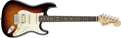 Fender American Performer Stratocaster HSS - 3-tone Sunburst w/Rosewood Fingerboard ()