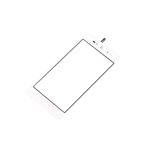 Touch Screen Replacement for BLU Grand Energy G130Q G130EQ & Studio Selfie 3 S630Q & Advance 5.0 Pro A170Q 5.0 inch Touch Screen Digitizer Panel (NO LCD) Replacement Parts (White) (Studio Energy Blu)