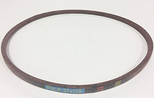 Pix Belt Made to FSP Specifications to Replace Murray (and Craftsman) Motion Drive Belt 37X110, 37X110MA, Used Rear Engine Riders with 30