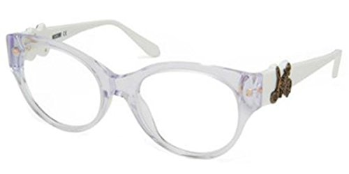 Moschino Brown Tortoise Eyeglasses Rx Glasses MO245V02 53-19-135 ()