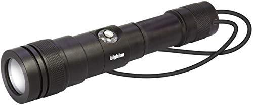 Big Blue CF1200P Rechargeable Battery Focus LED Dive Light