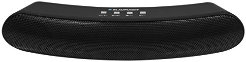Blaupunkt BP1262 Bluetooth Wireless Speaker w/33 feet range, Rechargeable Lithium Battery, TF Card, USB, and Aux Inputs