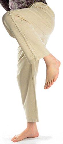 Et De Coton Pour Taille Avec Poches Hommes Salon Ficelle Pantalon Hemad Léger 5qvwpY5