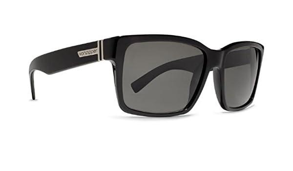4333501332 Amazon.com  Von Zipper glasses Elmore - BLACK GLOSS   VINTAGE GREY ...