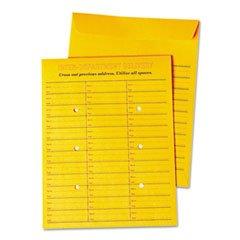 -- Interoffice Press & Seal Envelope, 10 x 13, Brown, 100/Box