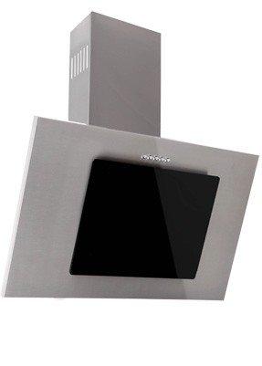 Dunstabzugshaube Wandhaube 50cm Weiß Weißglas Dunstabzug 500m³//h LED