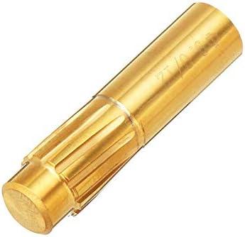 GENERICS LSB-Werkzeuge, Gewehrknopf 5,5mm 5,6mm 6,35mm 9,0mm 12-Flöten-Hartmetallkammer-Spiral-Maschinenreibahle Bruchfestes Werkzeugzubehör (Head Diameter : 6.35mm)