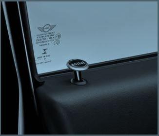 MINI COOPER Door Lock Caps/ Essential Black, 2 caps per box by MINI Cooper (Image #2)
