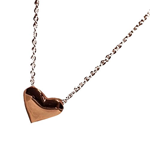 Topaz Bubble - Balakie Fashion Necklace, Women Gold Heart Bib Statement Chain Pendant Love Jewelry Gift