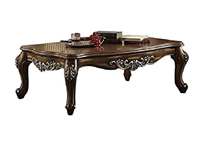 "Major-Q 9082115 57"" L Traditional Style Vintage High End Luxurious  Scalloped Wooden Top - Amazon.com: Major-Q 9082115 57"