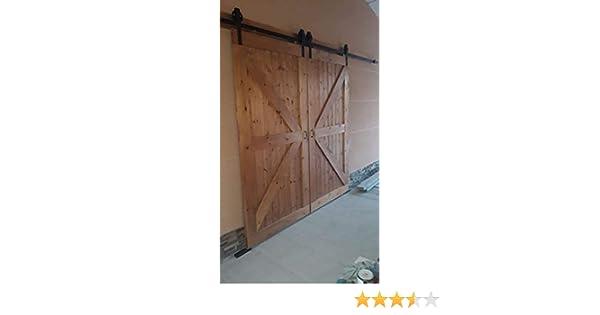 Puerta corredera rustica: Amazon.es: Handmade