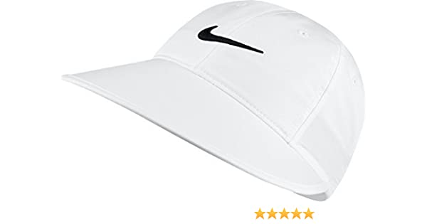 0090709e12b204 Amazon.com: Nike Women's Big Bill Cap, White,One Size: Clothing