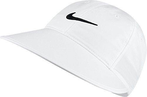 outlet store bbaa2 70c62 Image Unavailable. Image not available for. Color  Nike Women s Big Bill Cap,  White ...