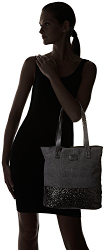 Noir Paillettes des Beverly Cerises 1 Noir Le Cabas Temps femme zqFwF8Sx