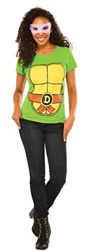 Rubie's Teenage Mutant Ninja Turtles Top With Mask and Donatello, Green, Large -