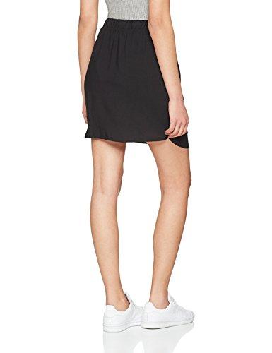Nw Vero Vmboca Noos Jupe Skirt Black Short String Femme Moda Black Noir OO1qSExwH